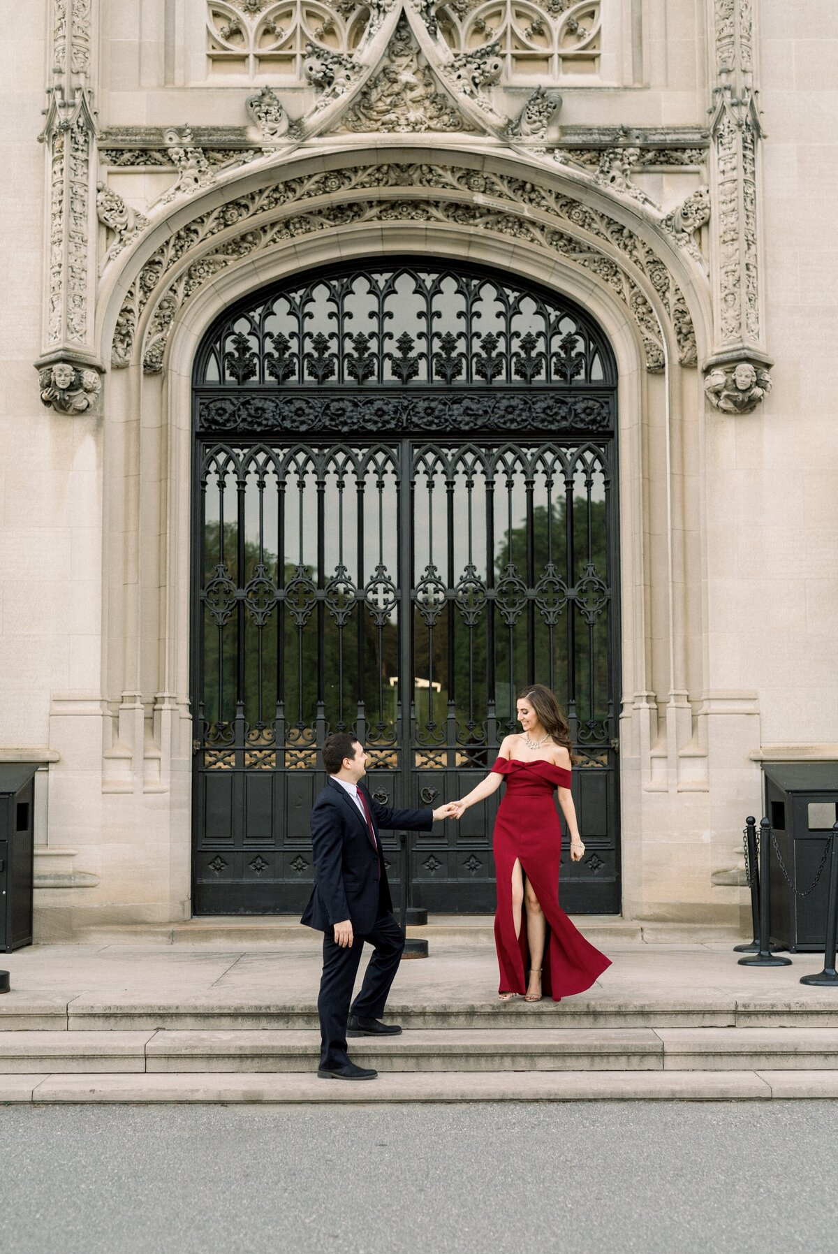 Biltmore Estate Engagement Session 25