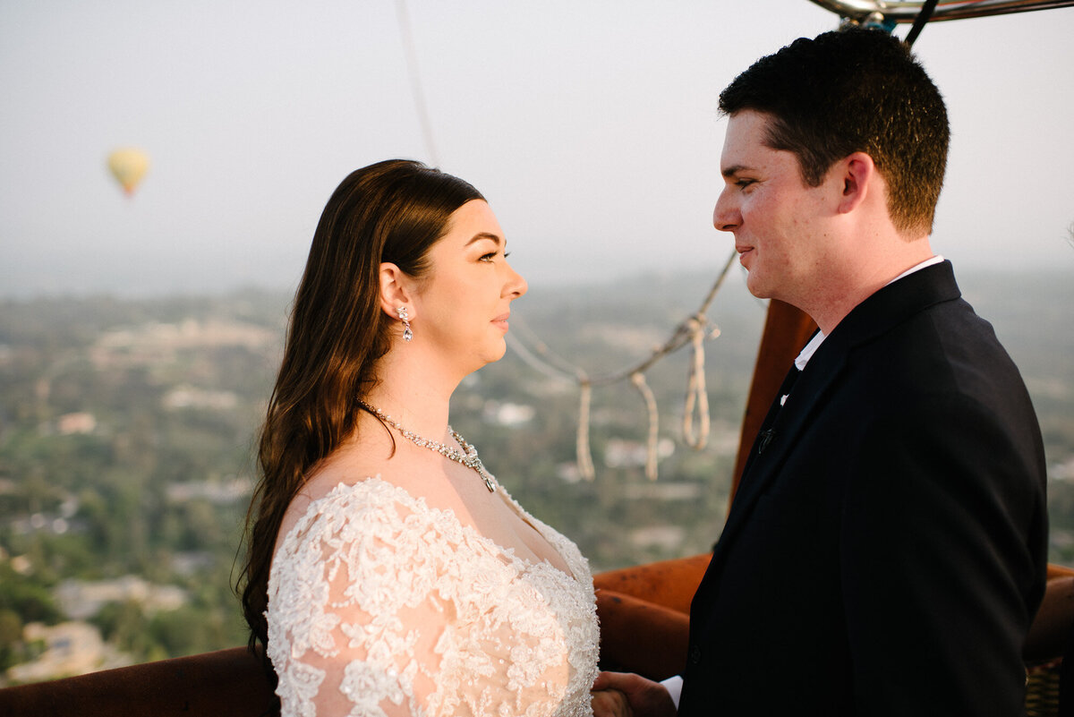 Hot Air Balloon Elopement Marie Monforte Photography-134