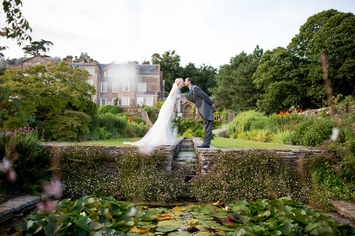 somerset wedding in june at hestercombe gardens