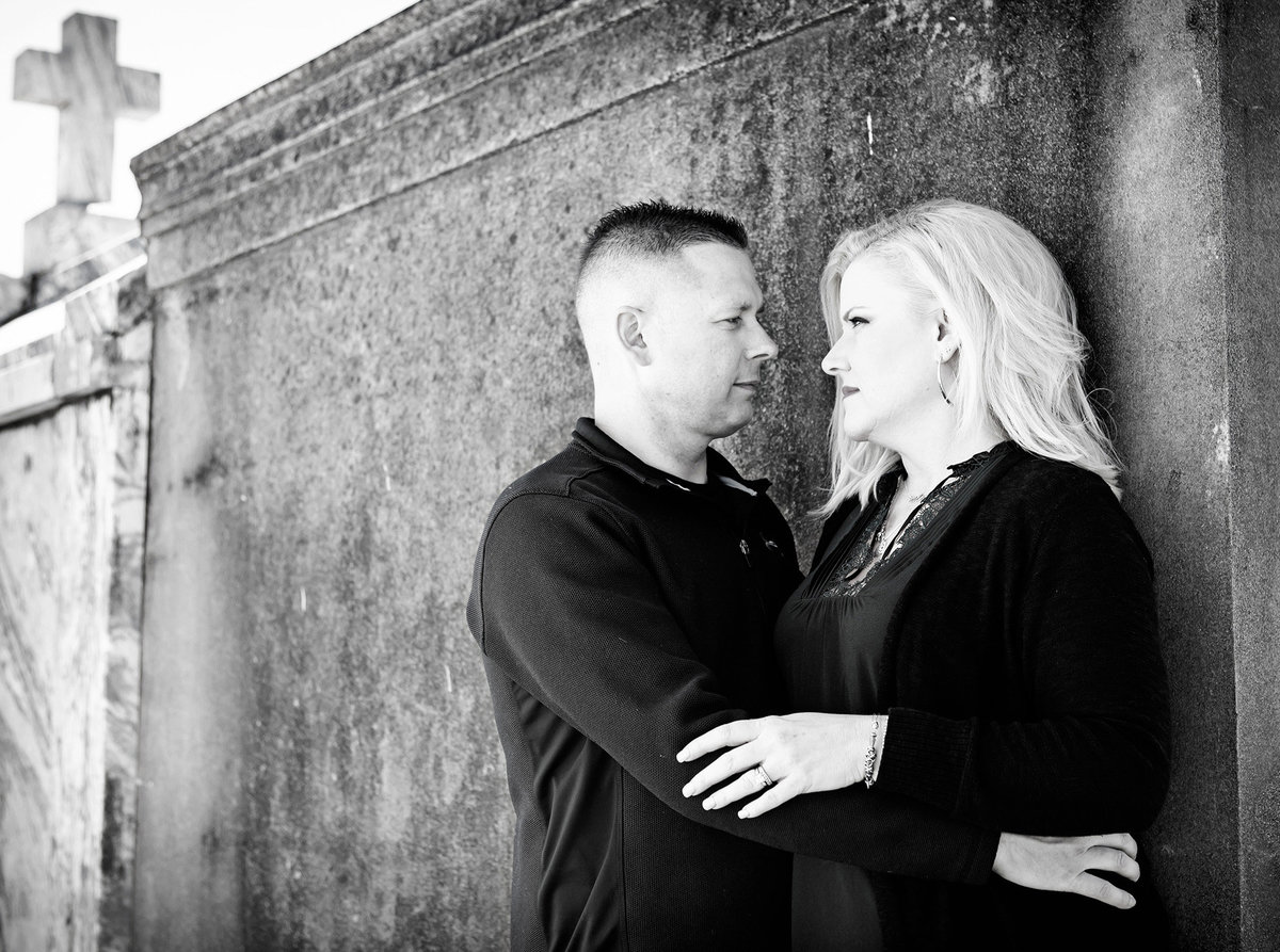 nola-cemetery-engagement-session