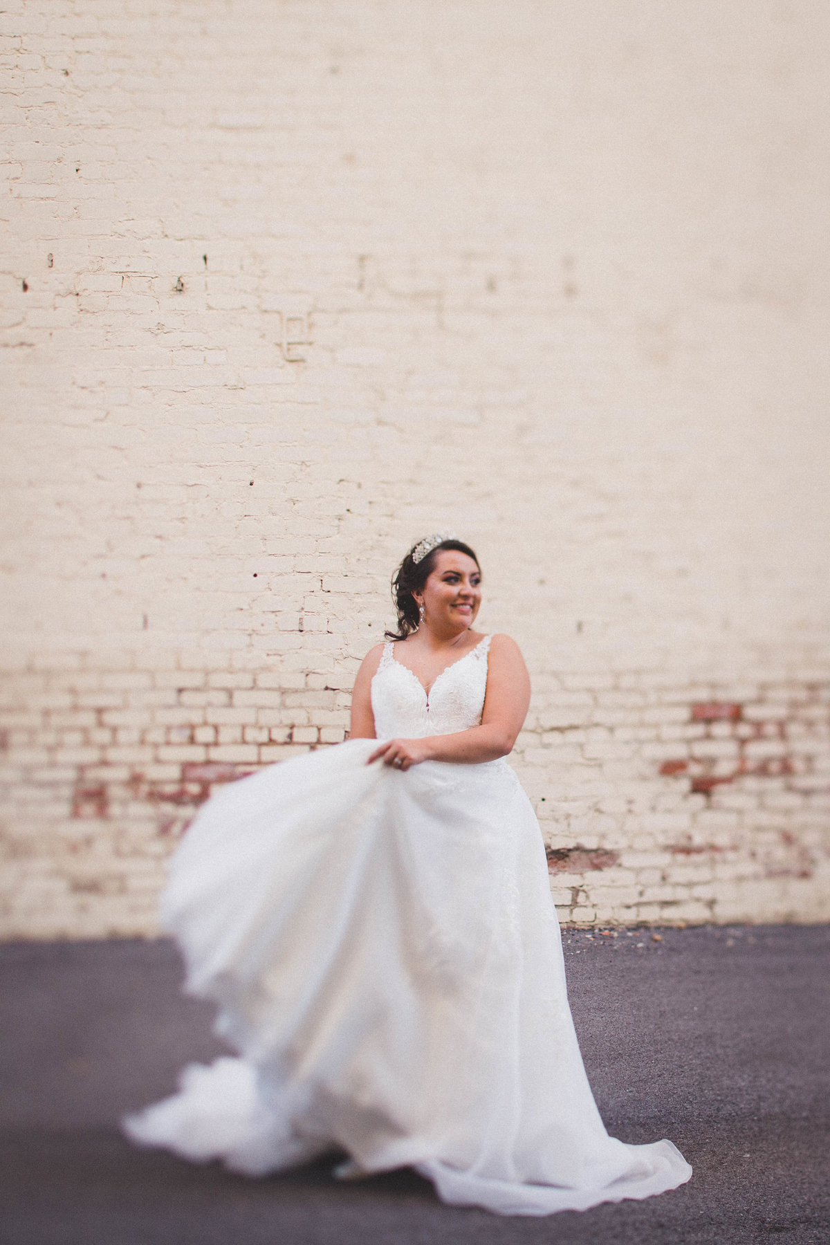 bride-twirling-tulle-wedding-dress