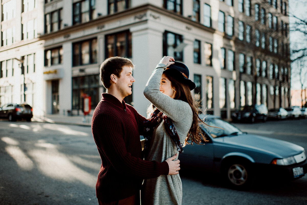 Wash Ave STL engagement session-66