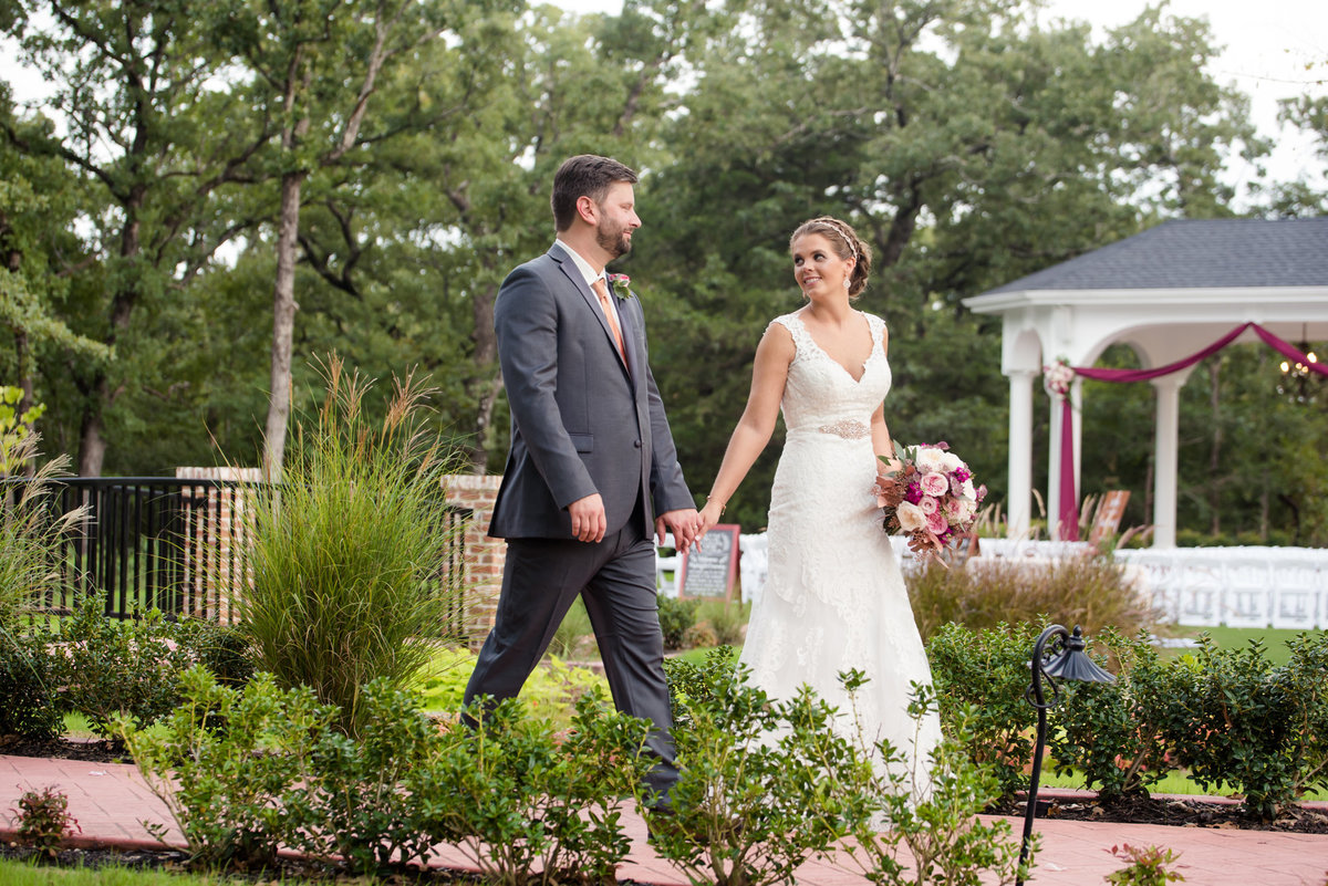 Rockwall Manor wedding photo