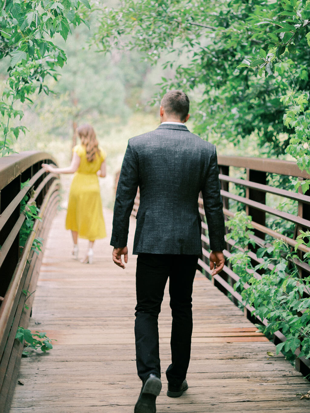Aubrey & Joey Sedona West Fork Trail Fall Fine Art Engagement Session Ball Photo Co-9
