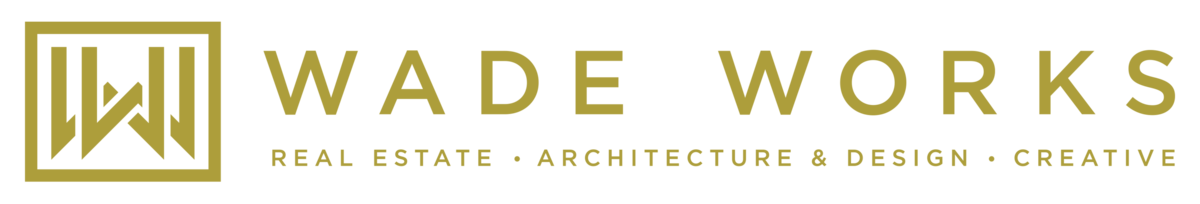 Wade Works GOLD Logo - LEFT