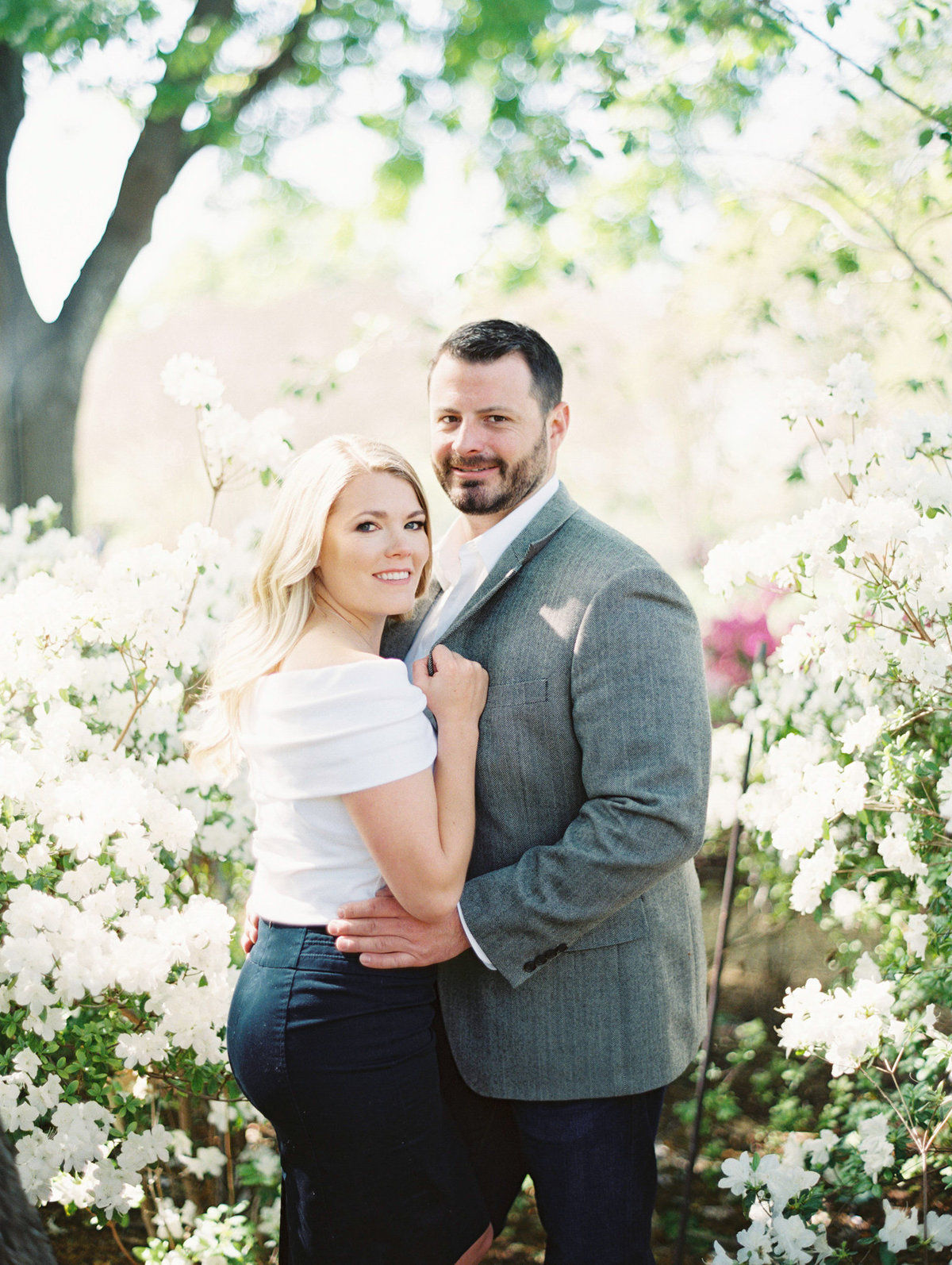 Courtney Hanson Photography - Dallas Spring Engagement Photos-008-2