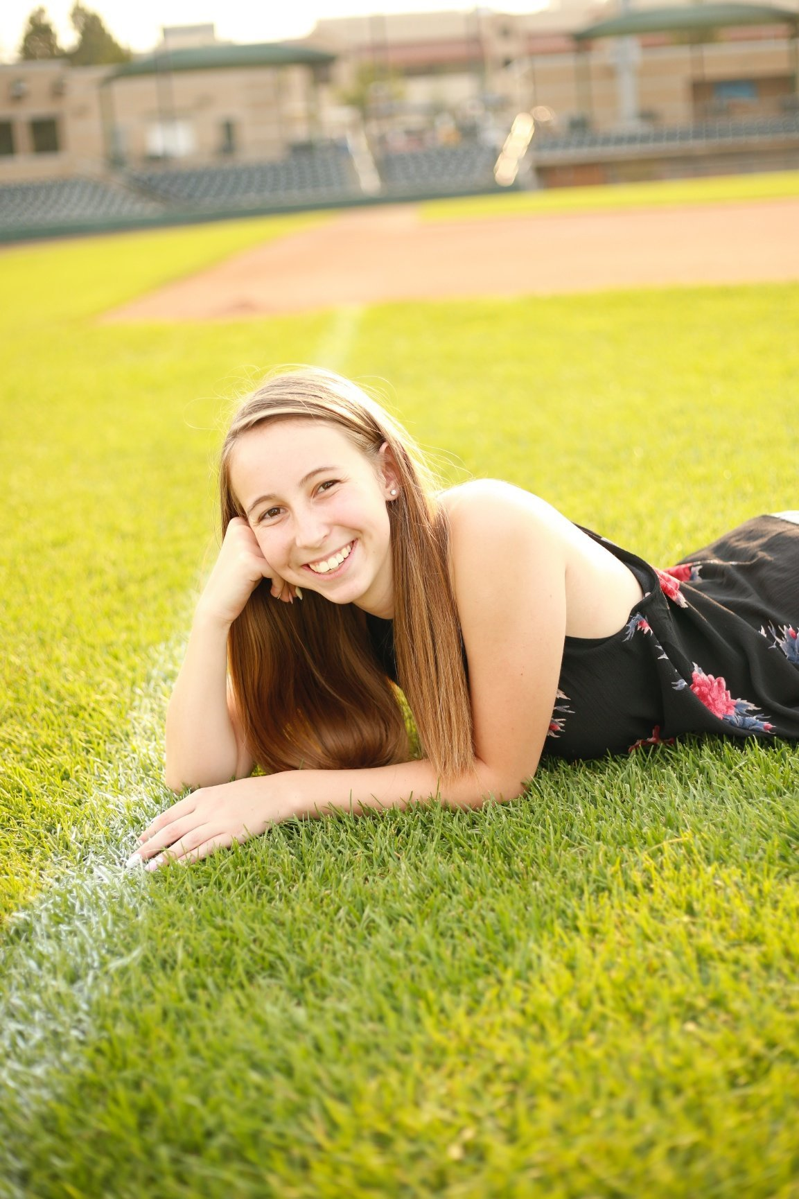 firecracker senior photo