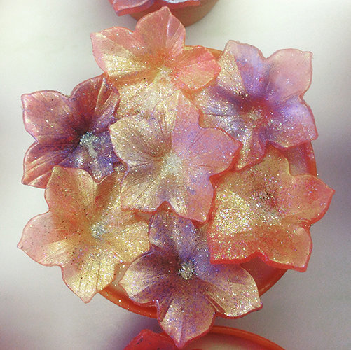 m&p soap flowers