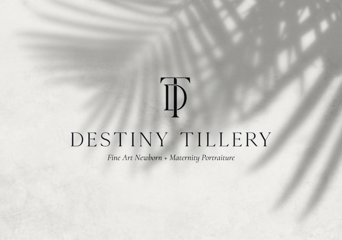 Custom DT monogram for Destiny Tillery
