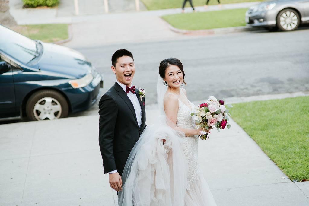 Bride-Groom-Smiling-Just-Married