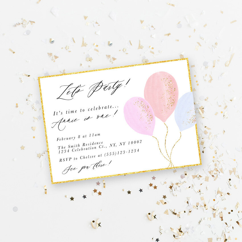 pirouettepaper.com | Party and Wedding Stationery, Signage and Invitations | Pirouette Paper Company | Downloadable Party Invitations | Cute Party Themes 53