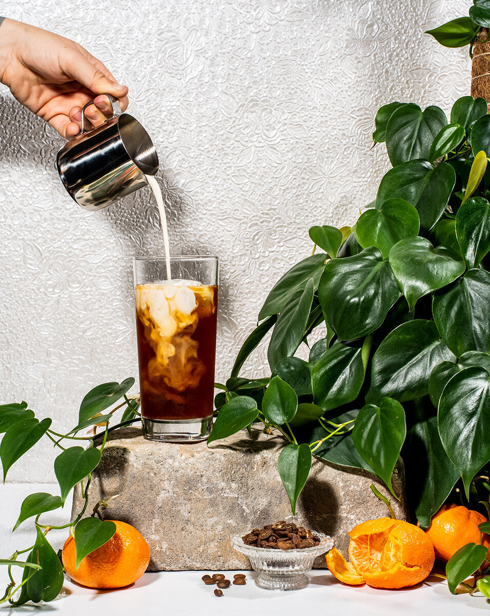 los-angeles-food-photographer-iced-coffee-pour-oat-milk-lindsay-kreighbaum