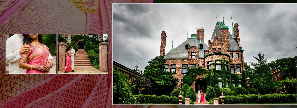 Wedding at the Van Dusen Mansion in Minneapolis, Minnesota