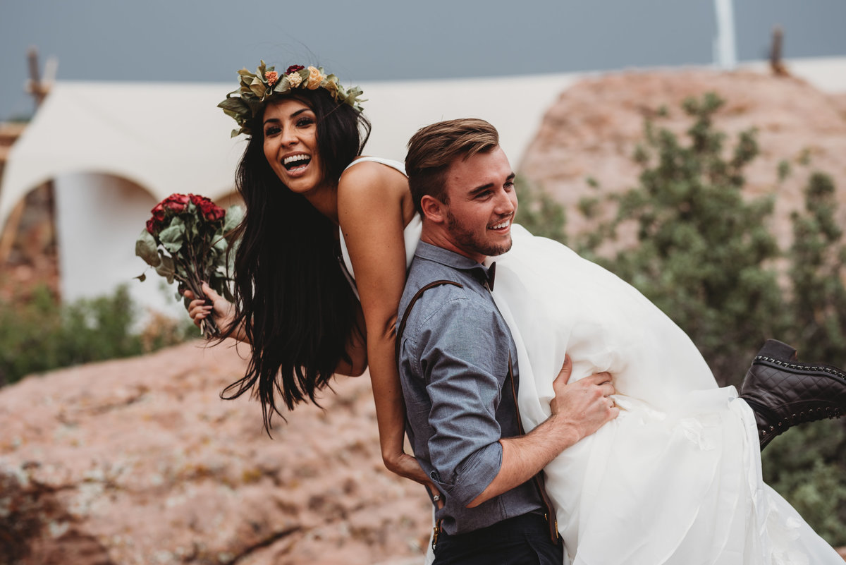 Epic Elopement-Under Canvas Zion-Janae Marie Photography