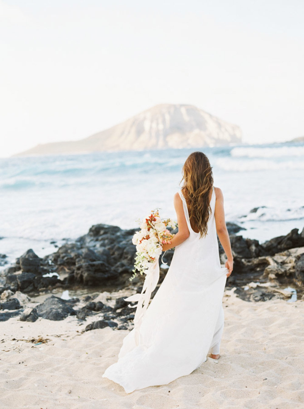 Hawaii Destination Wedding Photographer Sheri McMahon - Hawaii Beach Elopement-00013