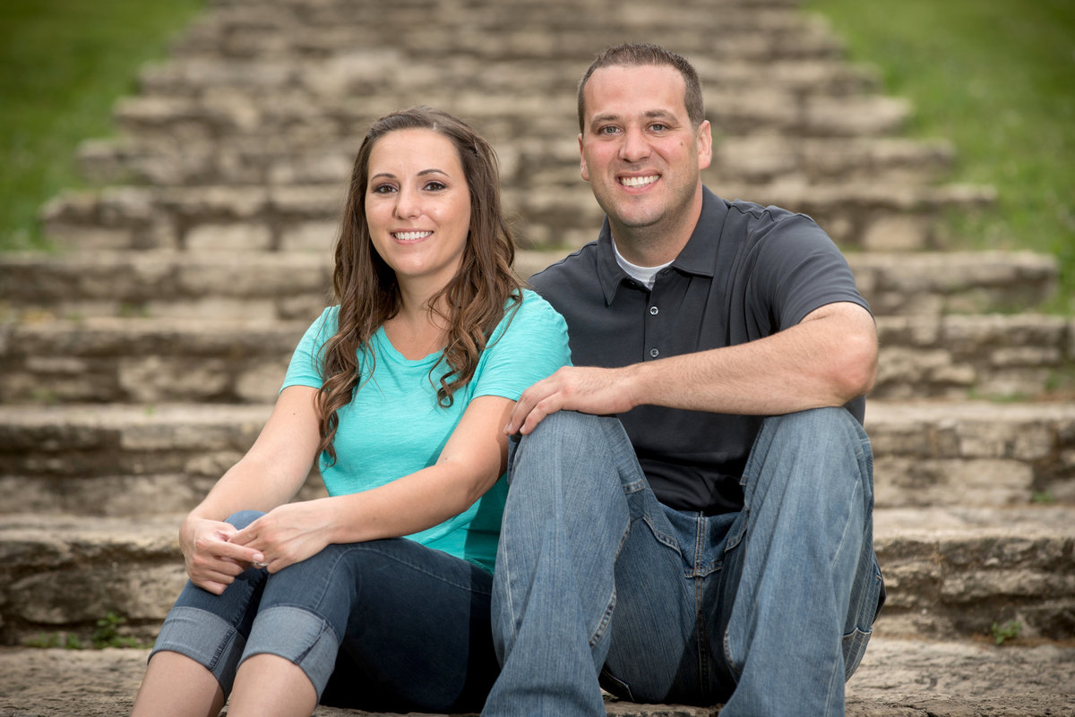engagement-portrait-on-historic-stone-steps-at-Pottowatomi-Park-in-St-Charles-Illinois