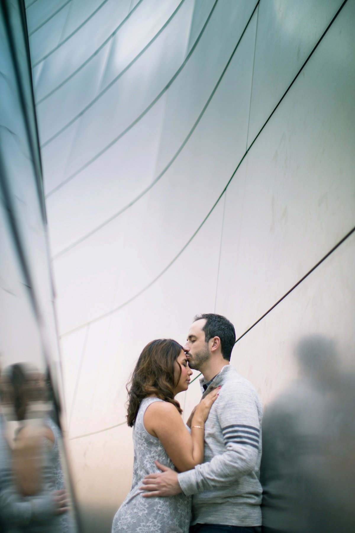 Walt Disney Concert Hall Photographer & Los Angeles Wedding Photography Engagement Photos In Orange County by Three16 Photography