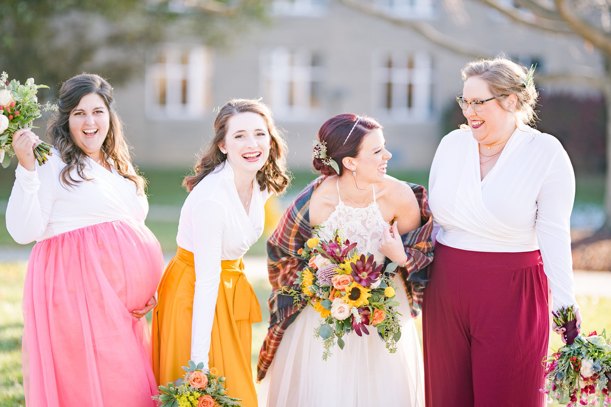 Urban Artifact Brewery Colorful Fall Wedding-123