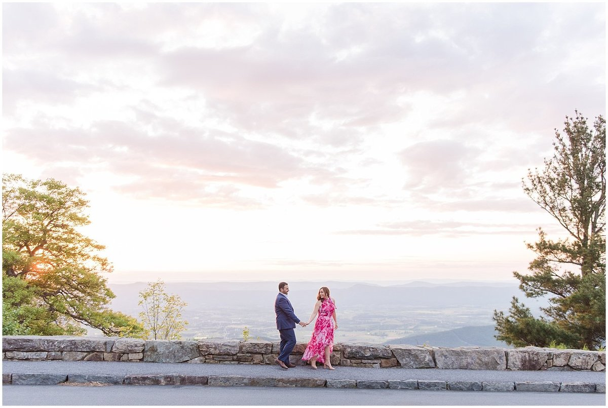 skyline-drive-shenandoah-national-park-sunset-engagement-photo