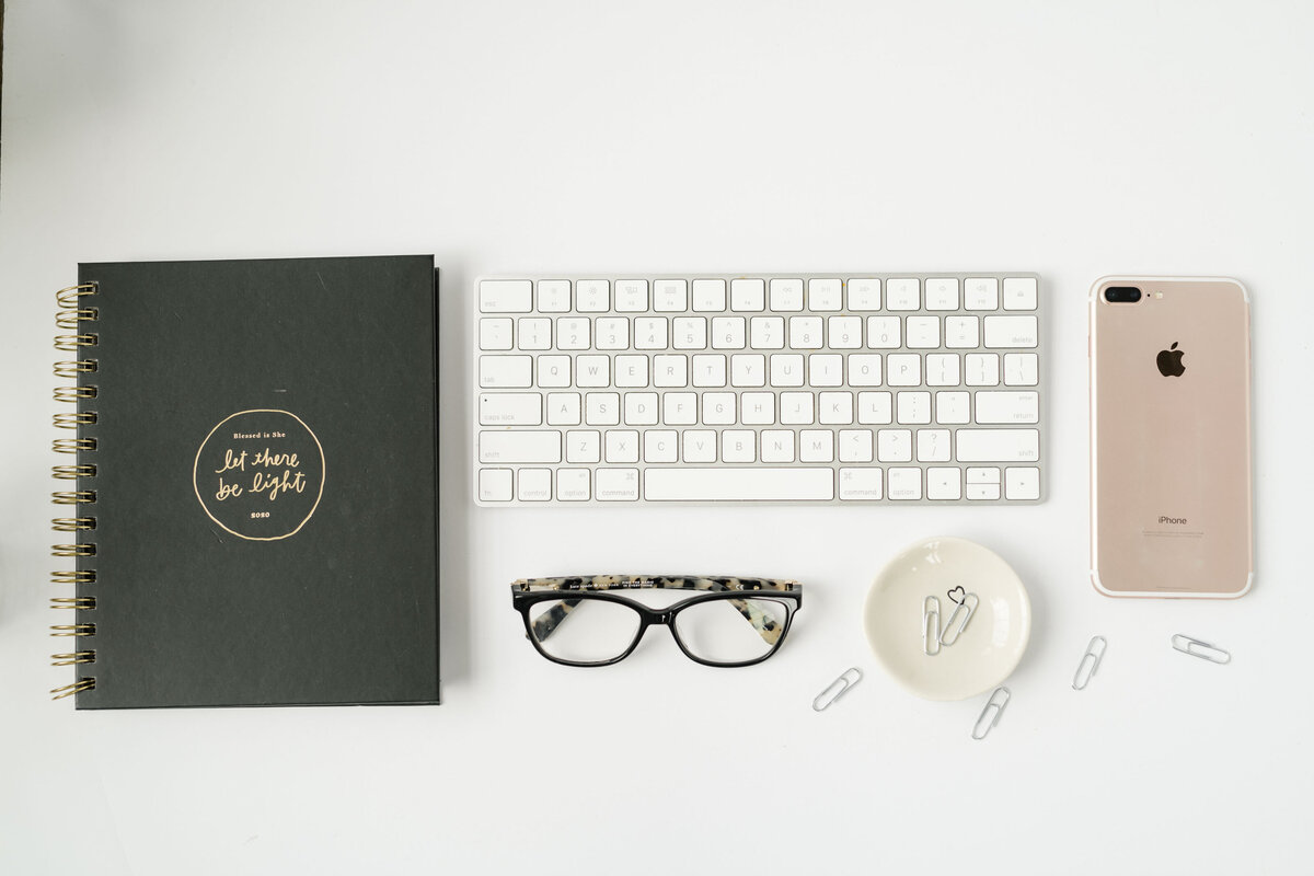 Blessed is She Journal Flatlay - Amanda Zurface
