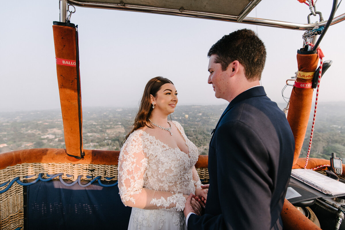 Hot Air Balloon Elopement Marie Monforte Photography-124