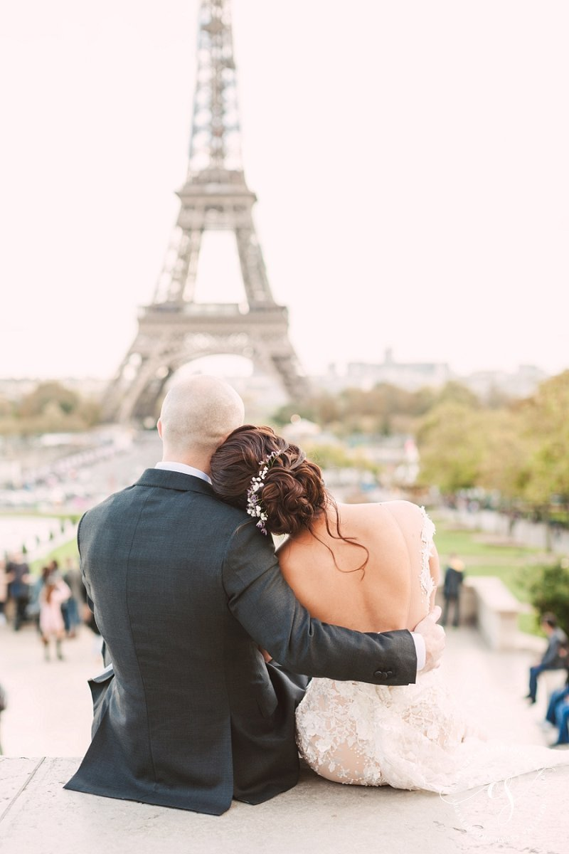 Eiffel Tower Wedding Photographer