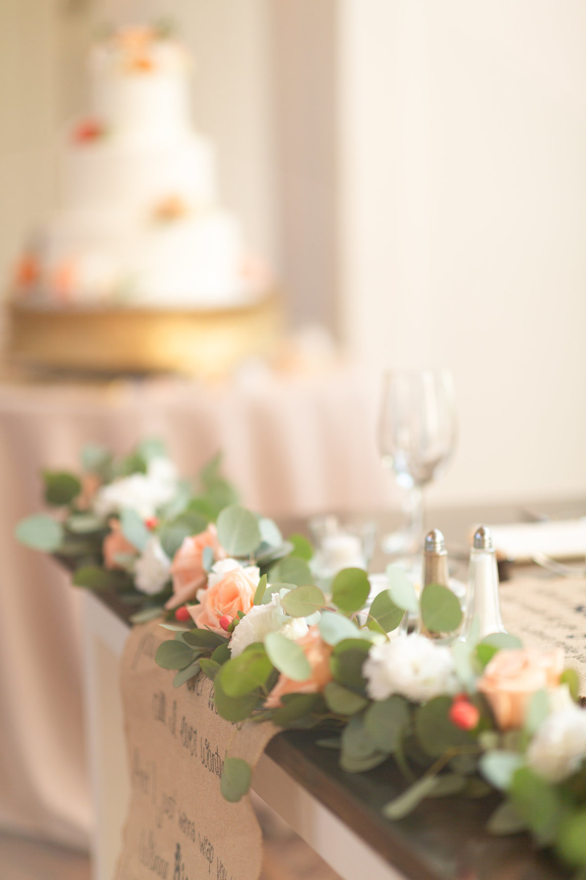 wedding day centerpieces
