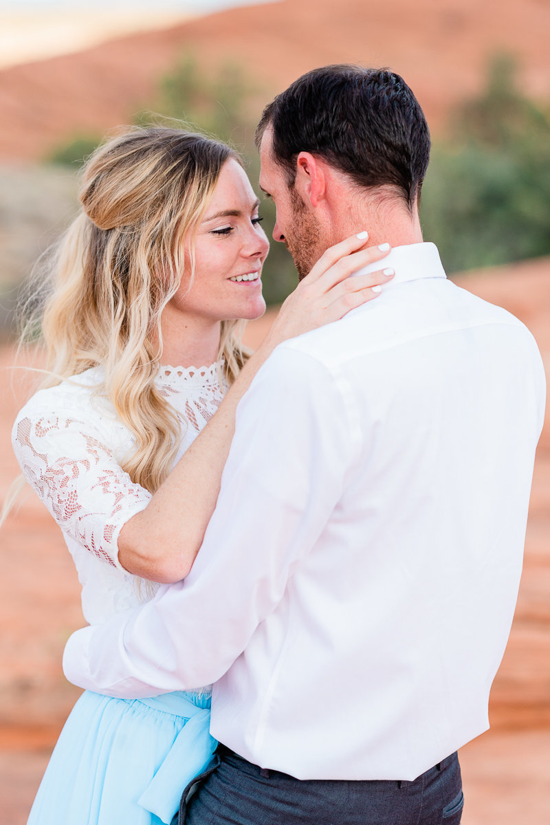 Utah Engagement | Wedding Photographer | Snow Canyon Bride and Groom Photos-3