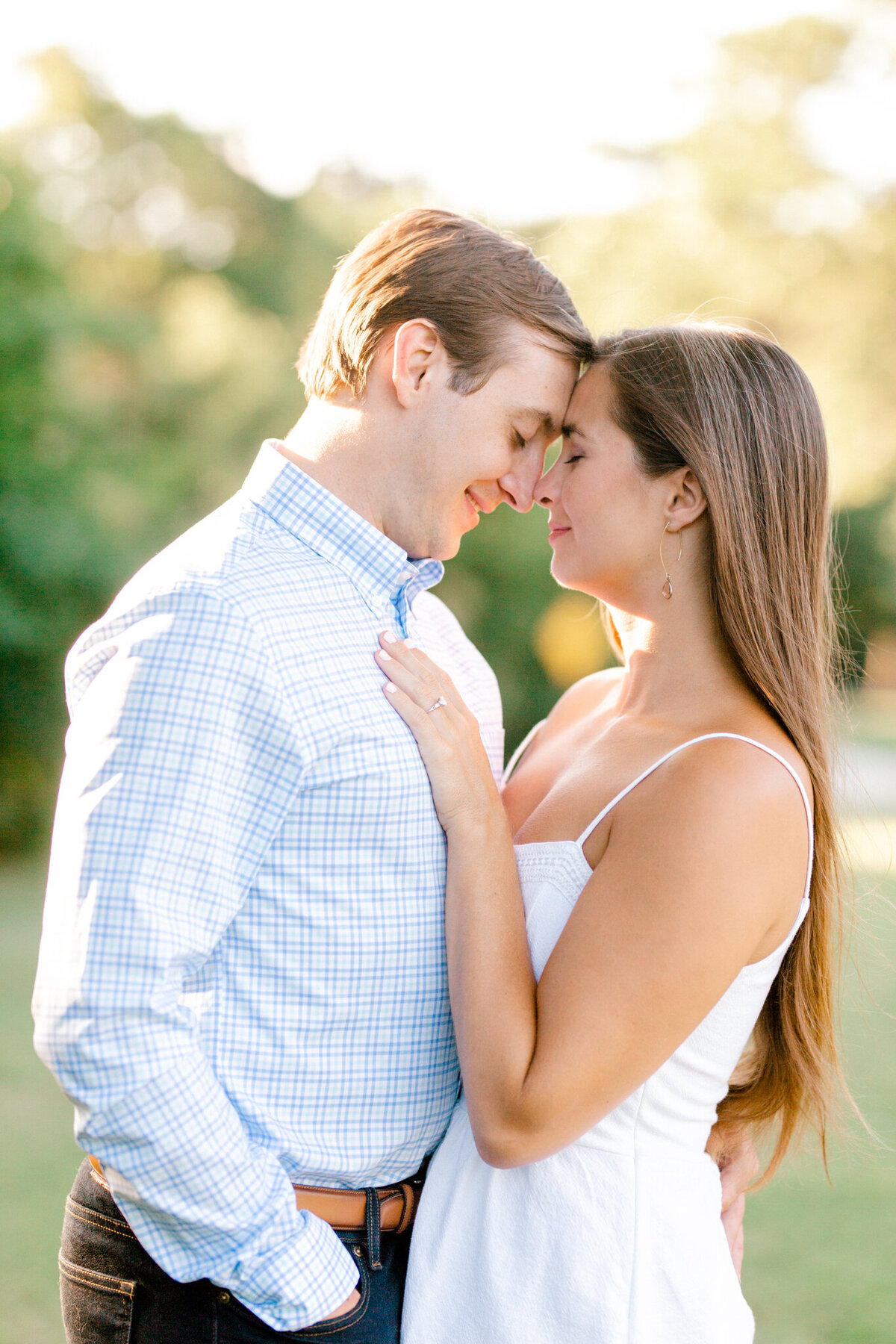 Christina & Steven Engagement Session at Prairie Creek Park in Richardson, Texas | DFW Wedding Photographer | Sami Kathryn Photography-6