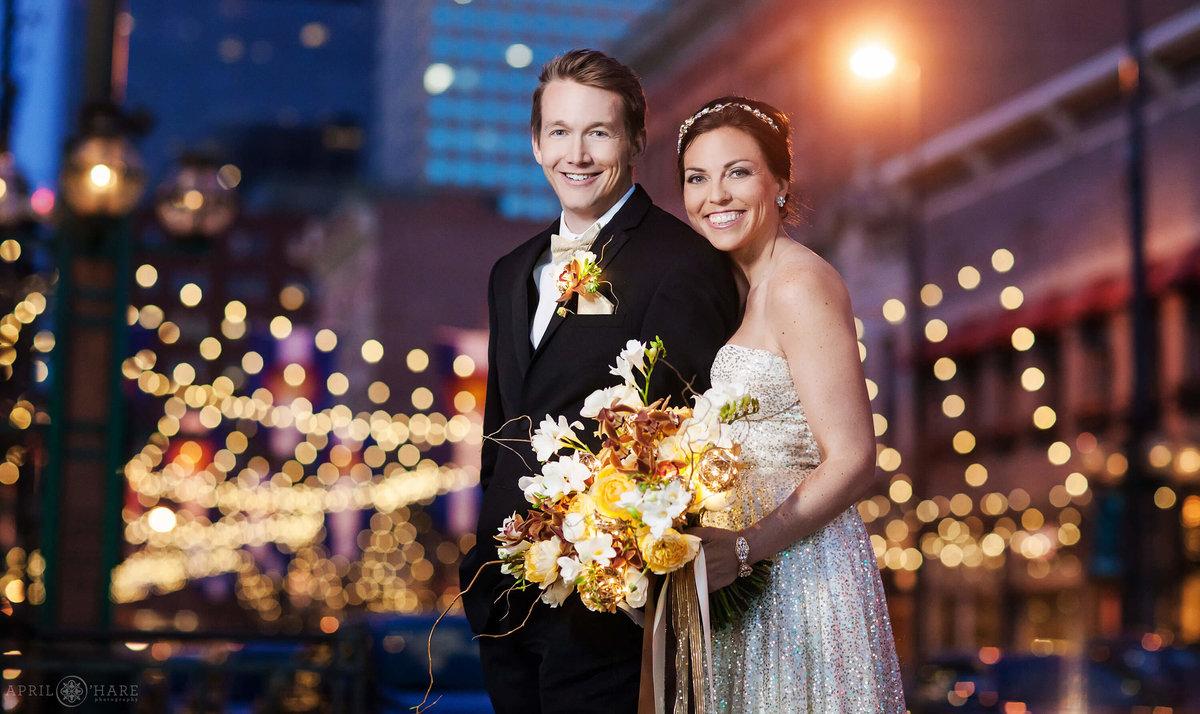 Beautiful-Larimer-Square-Wedding-Portraits-at-Dusk-in-Denver-Colorado