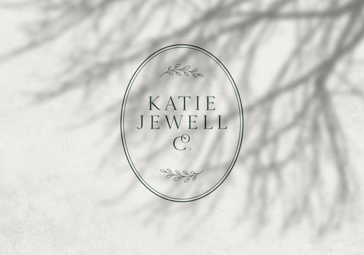 Custom sub logo fo Katie Jewell Co