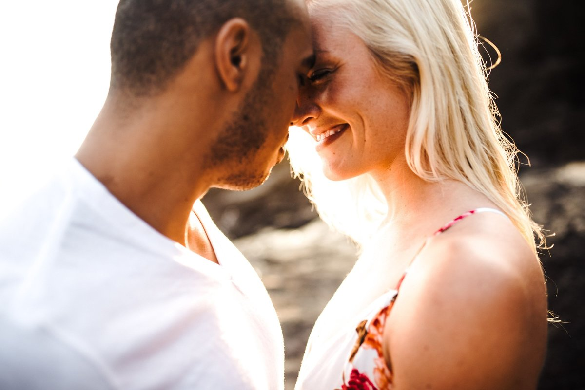 Eternity Beach Honolulu Hawaii Destination Engagement Session - 14