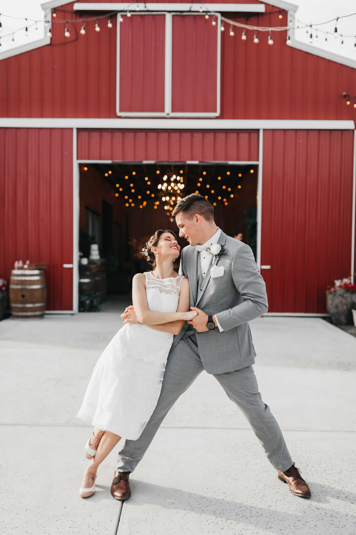 Luxury Wedding Photographer in Spokane Washington, Swing Dance Wedding - Clara Jay Photo