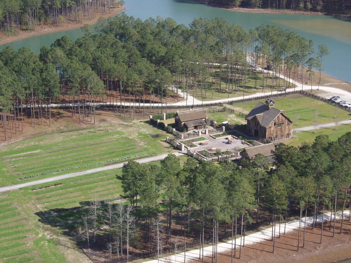 Overhead view of Hampton Island Farm in Riceboro, GA 2007(1)