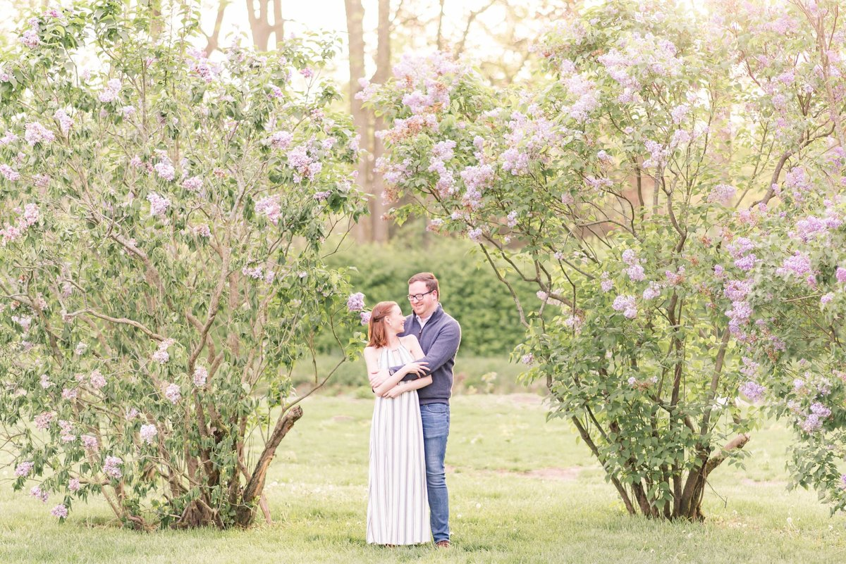 Cait Potter Creative LLC Holcomb Gardens Spring Engagement Photos-5