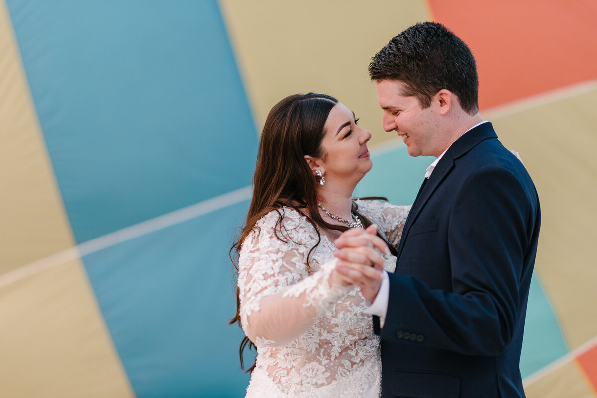 Hot Air Balloon Elopement Marie Monforte Photography-208