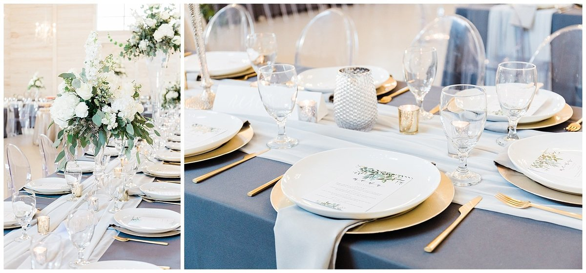Elegant-White-Barn-Wedding-Gold-Charger-Place-Setting