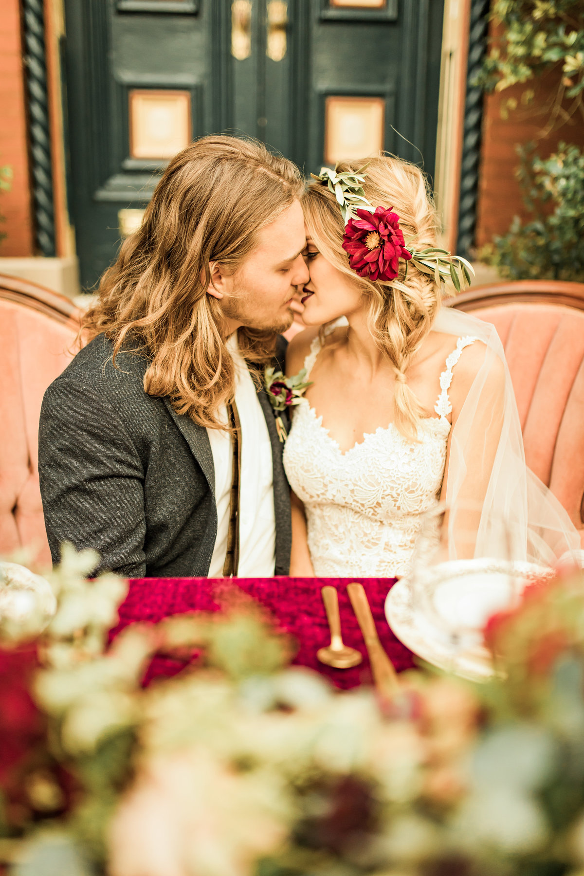 Fall Boho-Inspired Styled Shoot Lafayette Square Historic District  St. Louis, Missouri  Allison Slater Photography  Wedding Photographer242