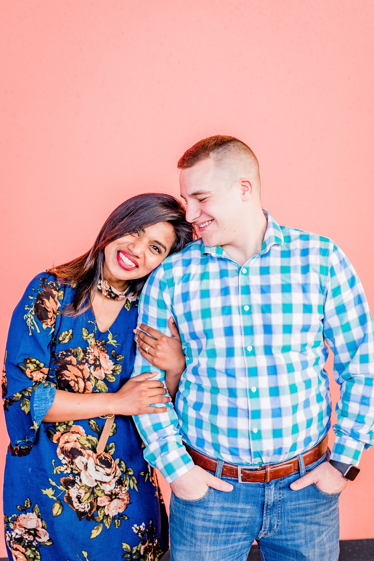 Engagement Photographer Couple Photographer Downtown Indianapolis Photographer-2