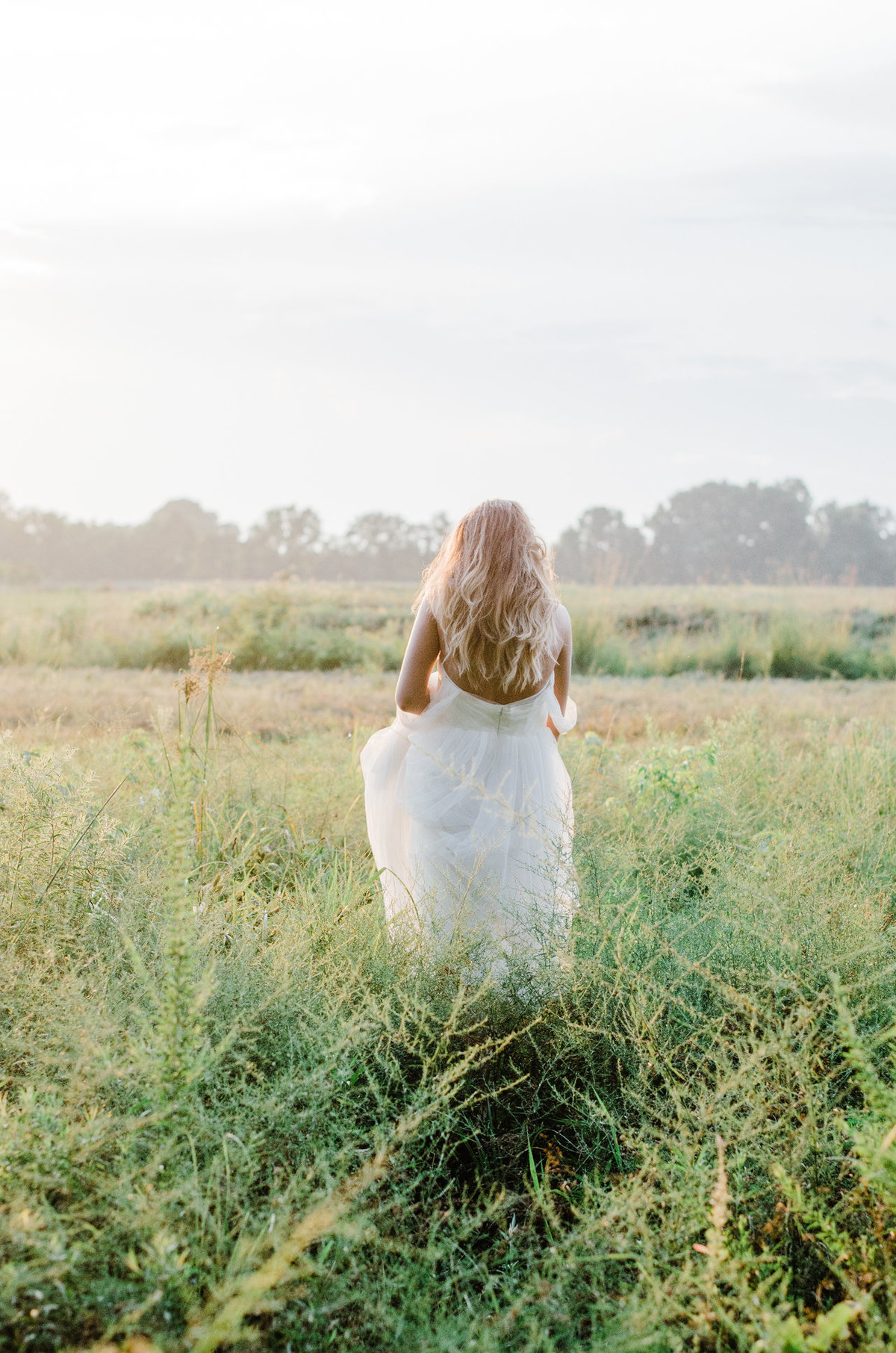 Boho Natural Wedding on the Eastern Shore of Maryland