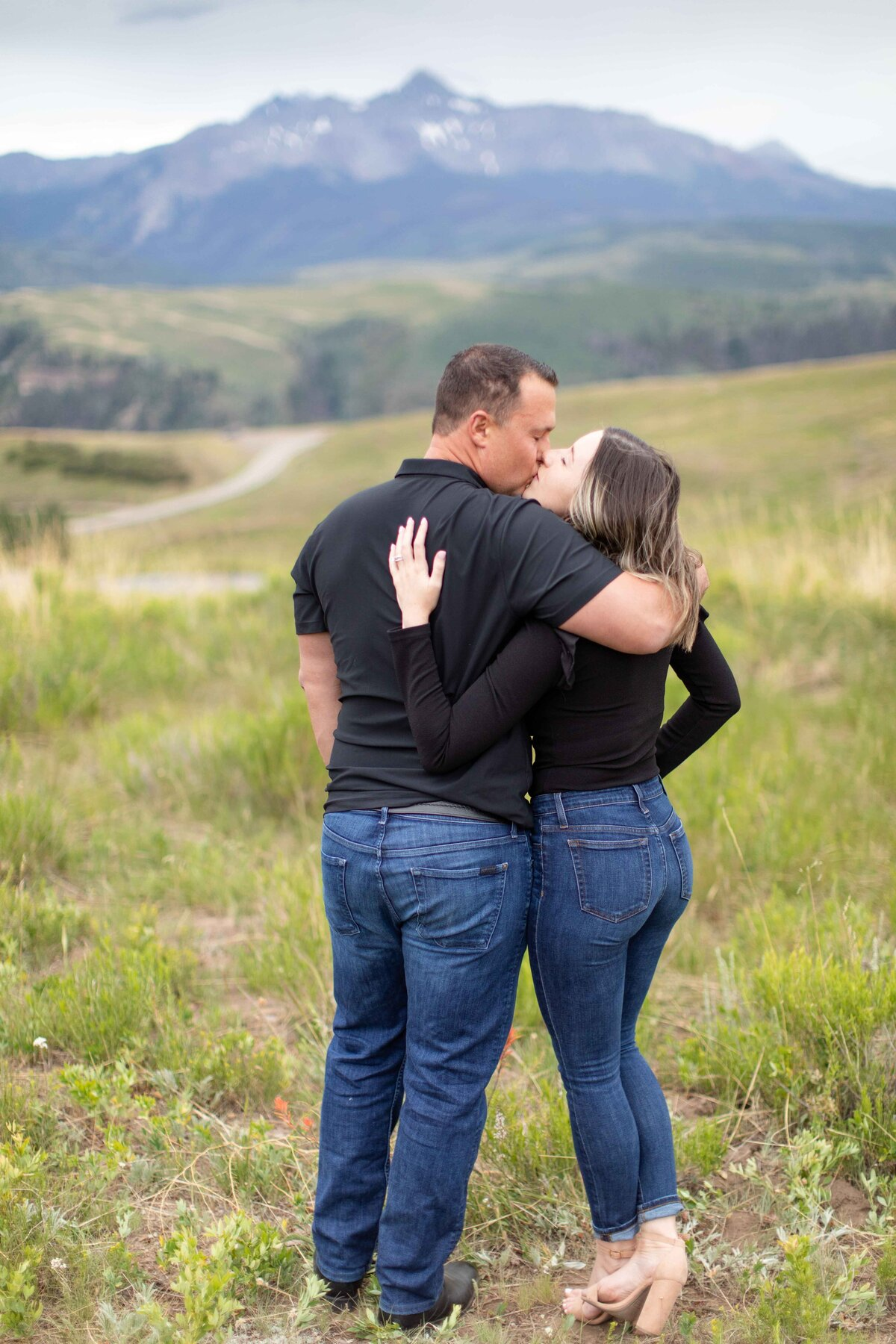 Telluride engagement | Lisa Marie Wright Photography