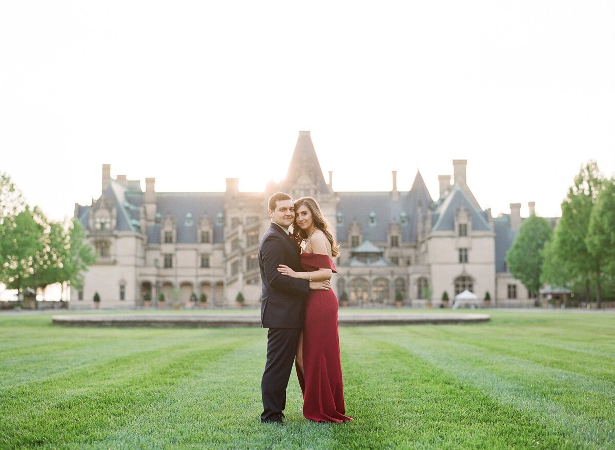 Biltmore Estate Engagement Session 28