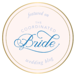 Featured on the coordinated bride