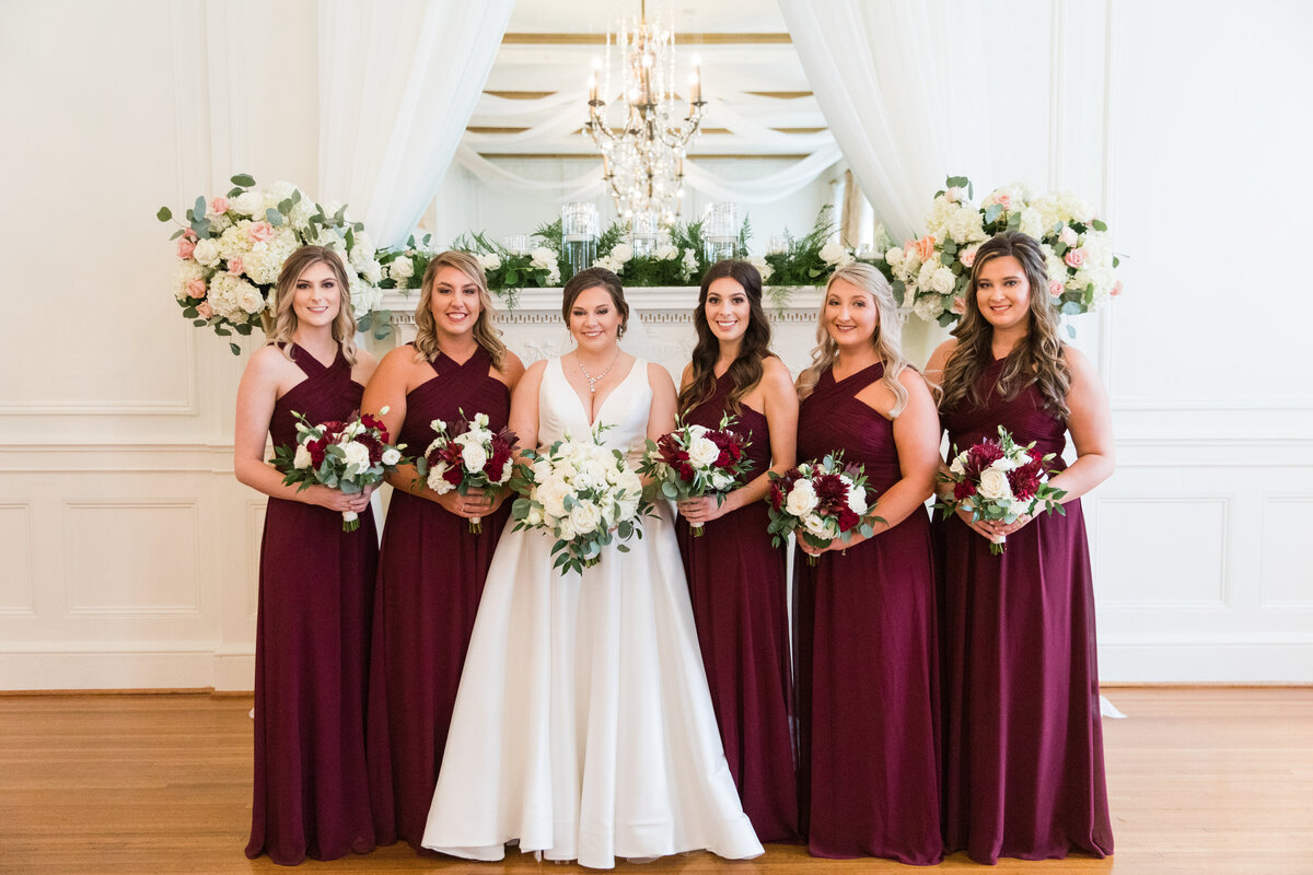 Emily and Nick - Hotel Concord - Bridesmaids Formals - 001