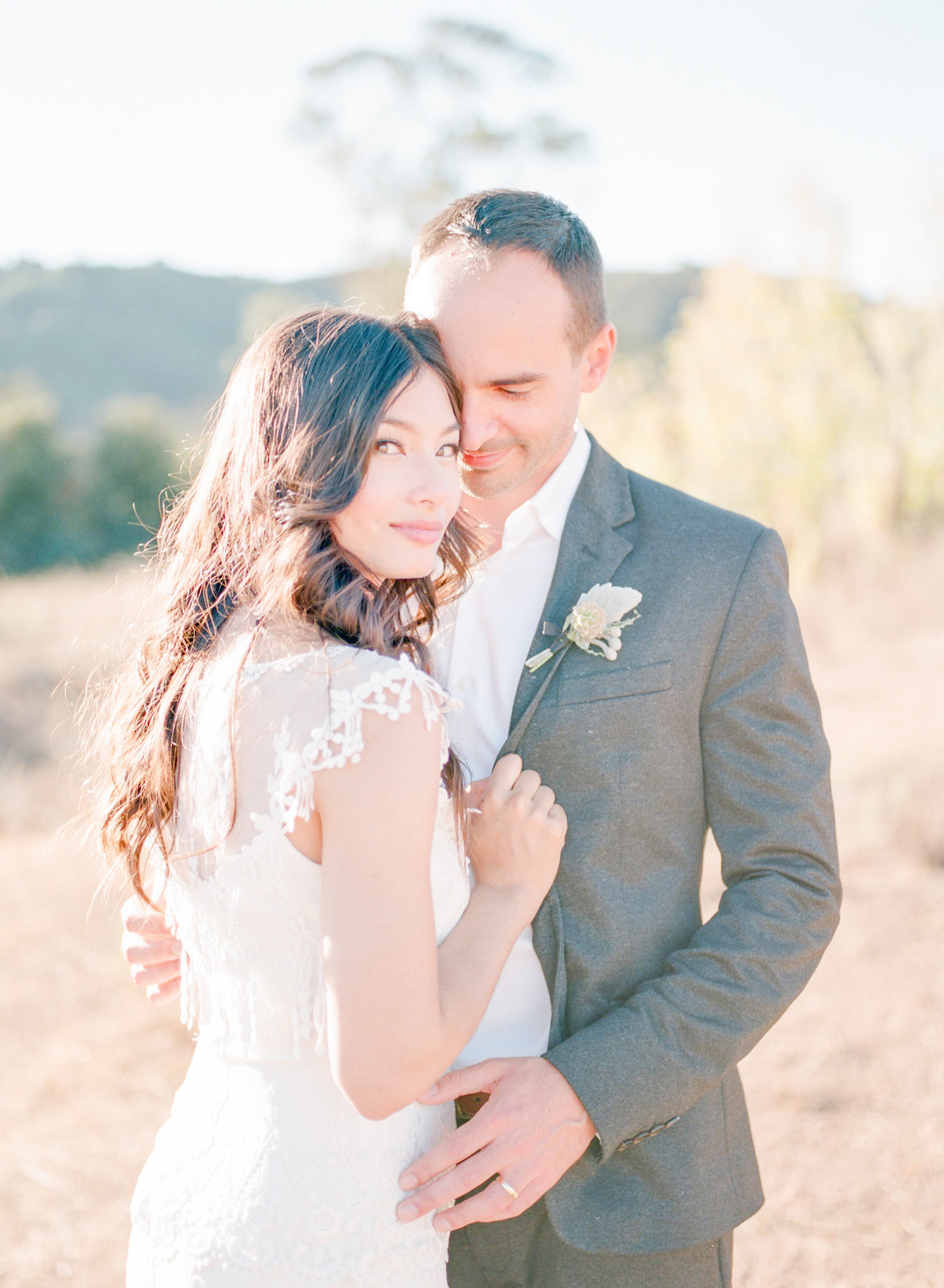 Santa Cruz Mountain Rustic Wedding