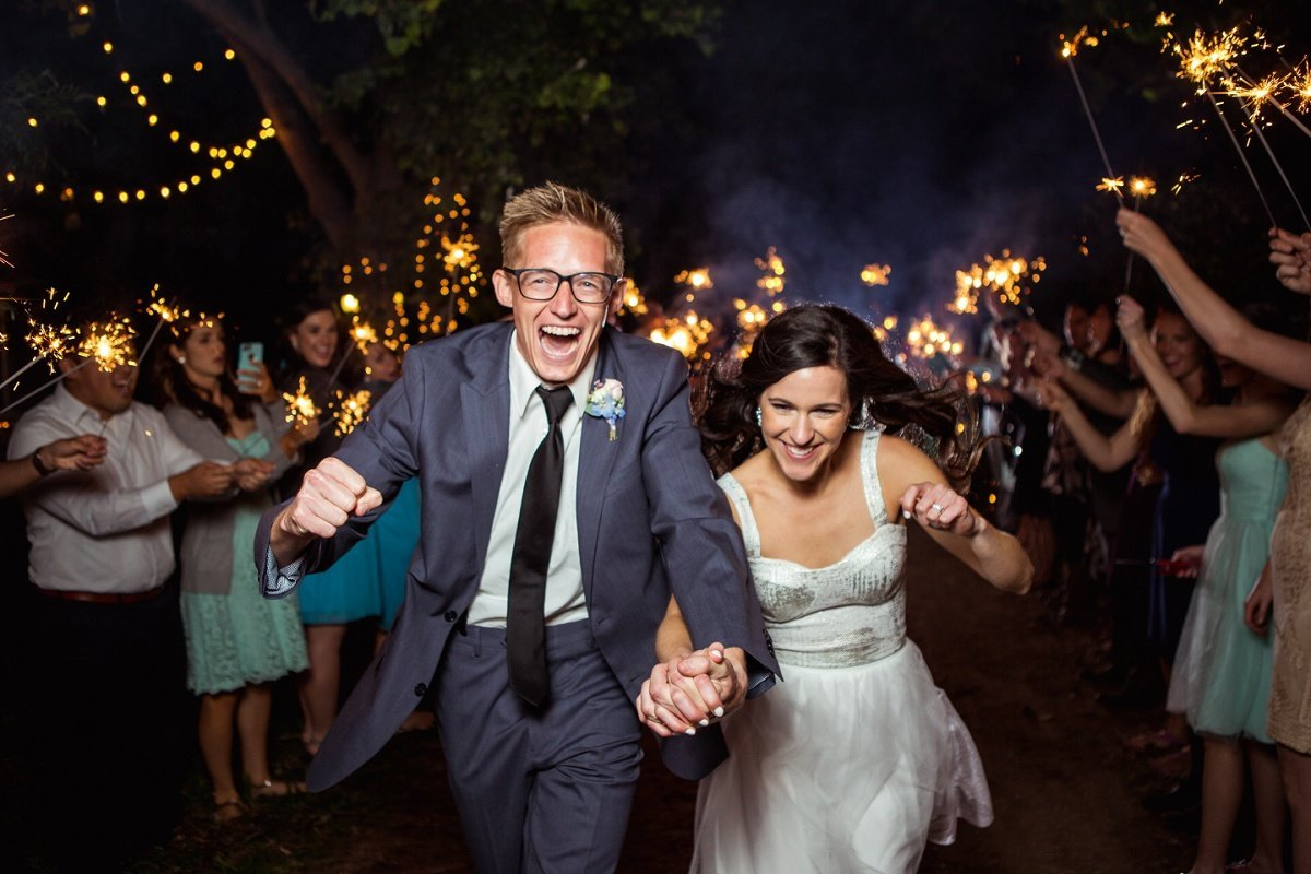 Orange-County-Wedding-Photographer-Los-Angeles-Wedding-Photography-wedding-reception sparkler exit