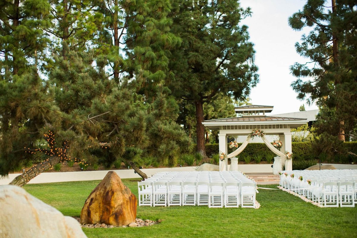 Turnip Rose Promenade Gardens Wedding Ceremony