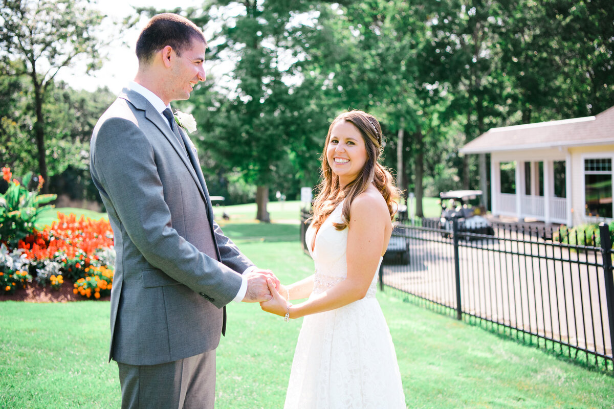 Highfields Golf County Club Wedding Ceremony