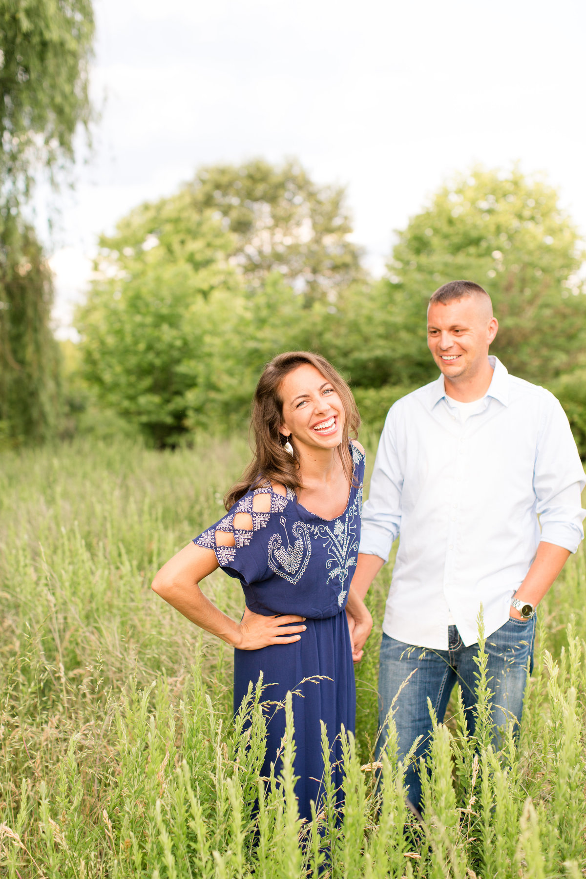Fredericksburg, VA engagement at Lick Run Community Center by Marie Hamilton Photography