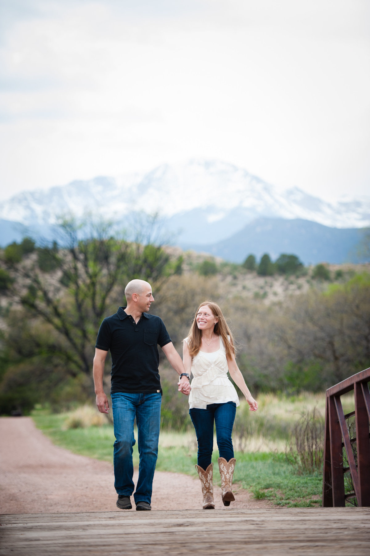 Engagement session at Rock Ledge Ranch